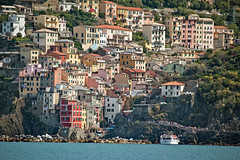 Cinque Terre, Riomaggiore (Kurtsview) Tags: cinque terre riomaggiore town village mountains sea architecture travel unesco medieval 15th century