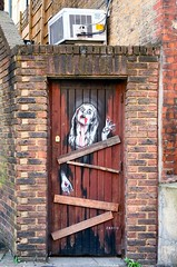 Ripper Environs (sasastro) Tags: zabou whitechapel eastlondon eastend streetart graffiti urbanart jacktheripper door