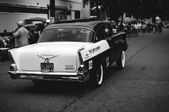 Chevrolet Bel Air (Garret Voight) Tags: chevrolet blackandwhite bw monochrome belair car vehicle automobile automotive old retro vintage classic antique american muscle chrome show custom modified lowered stance street hot rod 1950s 1960s mn minnesota outdoors ba backtothefifties