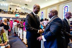Spring Into Praise-62 (Atlanta Berean Church - photos.atlantaberean.com) Tags: greeting hug man smile welcome woman