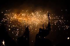 Play with fire (Adilson Cintra) Tags: spain ibiza eivissa santantonideportmany photography life portrait devil fiestassantbartomeu2016