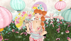 A Little Taste of Japan (Gaby Marshdevil ~ BUSY IRL) Tags: sl secondlife kawaii asian bonvoyage bcc tsg gacha halfdeer fgc doe