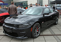 New Charger (Schwanzus_Longus) Tags: german germany us usa america american bremen new modern car vehicle sedan saloon black beast dodge charger srt