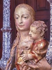 Virgen del Pino sin manto (sermarr erGuiri) Tags: teror virgin virgen catholic catlico catolicismo christian christianism cristiano cristianismo virginmary grancanaria canarias canaryislands spain espaa