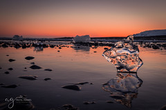 amazing Iceland (Pastel Frames Photography) Tags: jkulsrln glacier lagoon iceland water ice sunset reflections crystal red colours nature photography wonder