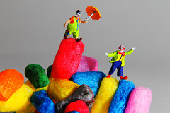 clowns (tobiasbegemann) Tags: clowns colorful red blue yellow green pink tobias begemann saarbrcken germany world street landscape people animal travel nature photography creative commons flickr macro
