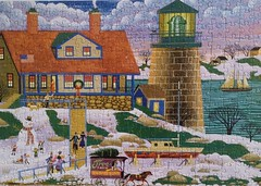 Grandma and Grandpa at Christmas (pattakins) Tags: puzzle jigsawpuzzle heronim