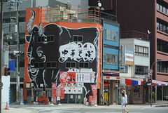 osaka896 (tanayan) Tags: urban town cityscape osaka japan nihonbashi    nikon j1 road street alley chinese soba restaurant