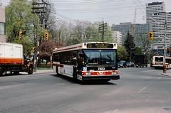 TTC 7300 D40LF Eglinton (bishop71701) Tags: ttc d40lf 7300 bus flyer eglinton oriole parkway brewersretail eglintonpark