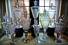 Glass collection - Rosenborg Castle (Copenhagen) (Arnzazu Vel) Tags: dinamarca denmark glasscollection copenhagen kbenhavn rosenborgcastle rosenborgslot glass