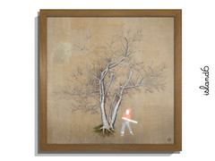 I'm A Hack (island6 Arts Center) Tags: art contemporary contemporaryart island6 shanghai m50 digitalart trees cut painting drawing