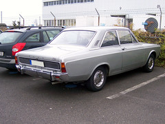 1968 Ford P7 20m 2000S 2T Limousine Heck (Joachim_Hofmann) Tags: ford fordp7
