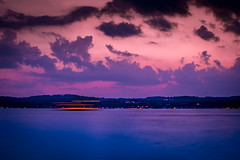 Long Exposure of Canandaigua Lady (jpetcoff) Tags: lake canandaigua upstate ny new york water night stars summer