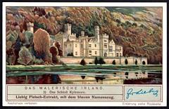Liebig Tradecard S1318 - Kylemore Castle (cigcardpix) Tags: tradecards advertising ephemera vintage liebig ireland