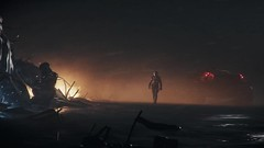 Salvage hunt (starcitizenhungary) Tags: ursa screenshot spaceman planet planetside