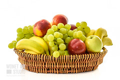 Basket full of fruits (WDnet) Tags: basket fruit isolated white fruits background food healthy apple banana green red yellow natural orange diet fresh harvest colorful health space wicker sweet group horizontal freshness nutrition vitamin nature juice light concept spring lifestyle wood studio season antioxidants vegetarianism veganism d750