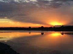 September sunset (jalsager) Tags: nofilter kenosha lake sunset takenwithaniphone