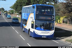 15985 (northwest85) Tags: stagecoach worthing coastliner 700 yn64 xsm 15985 scania alexander dennis adl enviro 400 brighton goring road bus yn64xsm