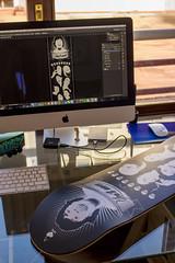 Skateboard desingn (HABESE) Tags: habese illstration illustrator adobeillustrator adobe photoshop desing
