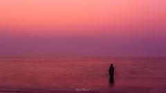 A alone girl on the beach at after sunset (Tarek_Mahmud) Tags: 2016 bangladesh coxsbazar portrait stmartin tmp tmphotography tarek tarekmahmud mhd trk trkmhd