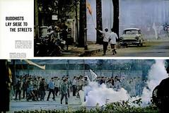LIFE Magazine - April 22, 1966 (3) - Buddhists Lay Siege to the Streets (manhhai) Tags: 1966 saigon thichtriquang buddhistriot