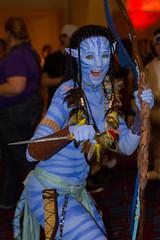 Neytiri 2 (Sho Kitamura) Tags: blue costumes atlanta fiction anime cat comics georgia fan dc video dragon cosplay zombie avatar manga