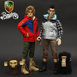 Primates in Concrete Jungle Jason Siu  x ACIToys 12吋系列