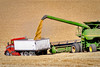 combine unloads grain by The Knowles Gallery, on Flickr