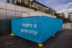 Inspire A Generator (adambowie) Tags: england london unitedkingdom olympics 2012 london2012 inspireageneration inspireagenerator