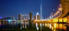 Day 87 | The Burj Khalifa (denciomacher) Tags: dubai nightscape bridges dri hdr hdri skyscrapper 1740f4l 5dmk2 dubaicityscape dubailandscape burjkhalifa