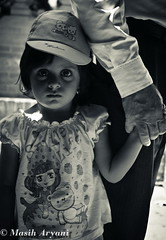 B&W-2 (Masih Aryani) Tags: blackandwhite bw girl children blackwhite kid iran age shiraz    gapofage