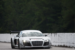 Audi R8 LMS Ultra 20 (Stephan Bauer) Tags: road racecar silver track driving racing testing exotic audi ultra supercar lemans rolling r8 roebling 24h lms