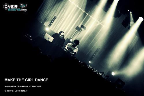 MAKE THE GIRL DANCE @ Rockstore - Montpellier - 2LOGO