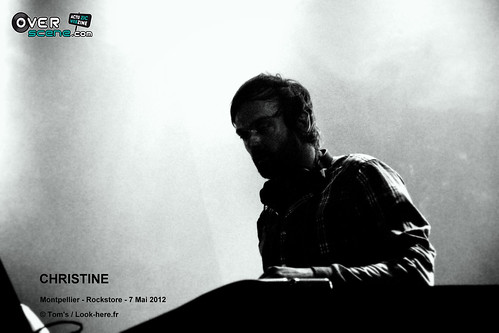 CHRISTINE @ Rockstore - Montpellier - 2LOGO