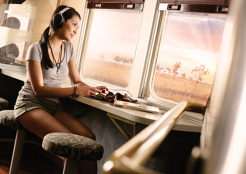 Queensland Rail - Spirit of the Outback, buffet