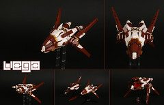 """VEGA"" Seryan spyship (Shamisenfred) Tags: star lego sound vega starfighter serys"
