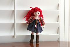Addie - A Princess Puppen (Colorful Puppen) Tags: miniatures miniature handmade waldorf fashiondoll waldorfdoll waldorfdolls 16scale playscale miniaturepuppens
