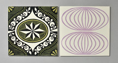 Carter tiles (robmcrorie) Tags: tile lawrence pot pottery carter 1960s poole scarfe 1964 1965