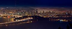 Grizzly Peak Peek (mikeSF_) Tags: california city bridge seascape mike fog night landscape island lights bay berkeley san francisco long exposure treasure pentax transamerica yerba tamron 70200 k5 buena oria httpmikeoriazenfoliocom