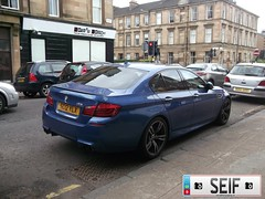 BMW M5 Glasgow2012 (seifracing) Tags: rescue scotland europe britain transport rover vehicles bmw van emergency spotting recovery strathclyde ecosse sprinter seifracing