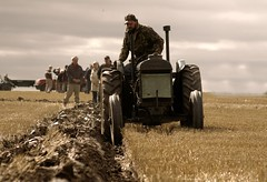 Festival of the Plough 2012 (niknok2007...) Tags: horse tractor classic nature field festival vintage high earth farm wheat yorkshire country farming north working harvest machine straw steam lincolnshire soil crop land shire plough 2012 epworth machinary furrow