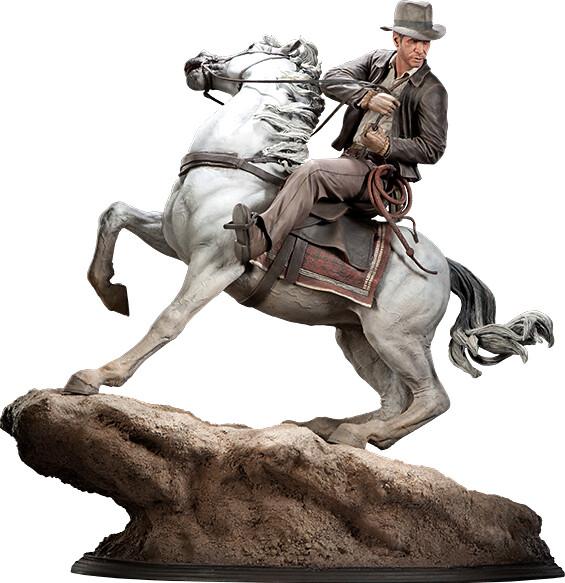 永遠的尋寶英雄!印第安那瓊斯雕像介紹!