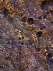 Martian Clay Panorama (sjrankin) Tags: wallpaper mars edited background nasa clay retina mro ipad retinaresolution 23september2012