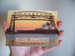 (mestes76) Tags: friends minnesota hands bridges postcards duluth aerialliftbridge 102111