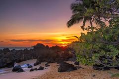 Evening in Maui (mojo2u) Tags: sunset beach hawaii secretbeach maui makena nikon2470mm nikond700