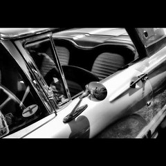 T-Bird Tuesday (joannemariol) Tags: blackandwhite classic car vintage square classiccar nostalgia squareformat americana thunderbird blackandwhitephotography vintageauto vintageretro joannemariol iphoneography joannemariolphotographics classiccarphotography instagramapp uploaded:by=instagram