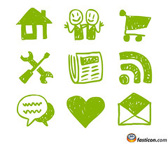 Hand Drawn Web Icons (Fast_Icon) Tags: favorite news green home shop kids icons hand email download about feed draw drawn comment handdrawn freeicons fasticon serivces handdrawnicons