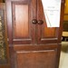 Ornate mahogony 2 door tv unit