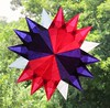 Red Purple And White Star