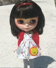 Calliope in New BA Circus Dress